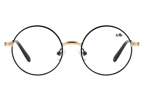 Harry Potter Optical Glasses Black Golden Round