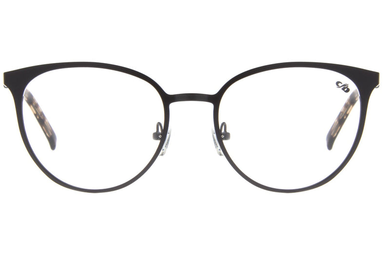 Round Optical Glasses Matte Metal