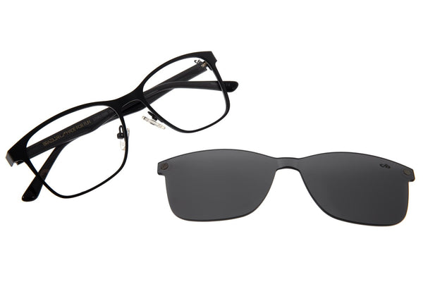 Bossa Nova Optical Glasses Black Stainless Steel