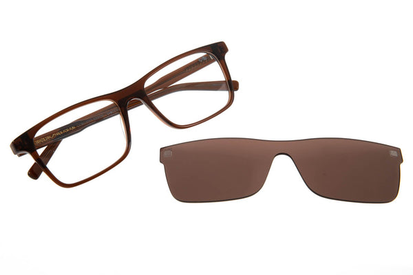 Rt Optical Glasses Brown Acetate