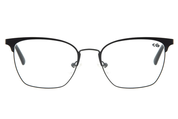 Square Optical Glasses Gradient Metal