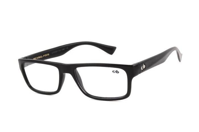 Square Optical Glasses Black Nylon