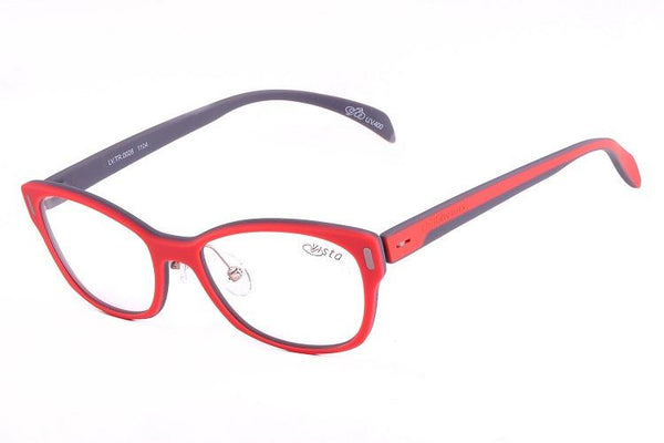 Round Optical Glasses Orange Tr90