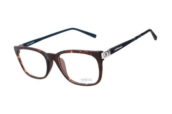 Round Optical Glasses Brown Tr90