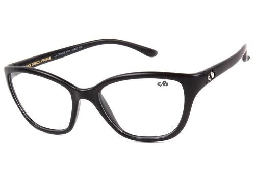 Cat Eye Optical Glasses Black Tr90
