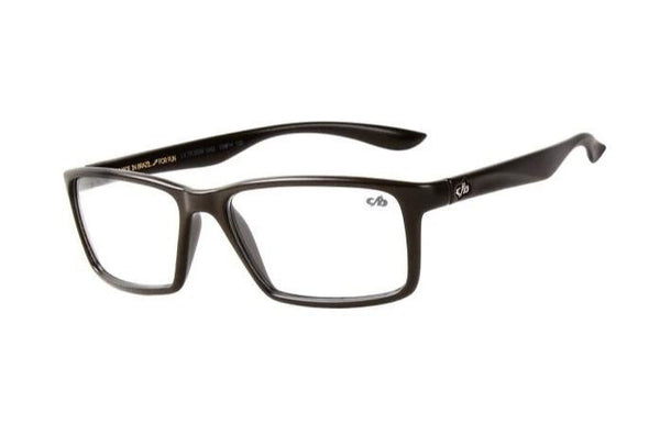 Square Optical Glasses Brown Tr90