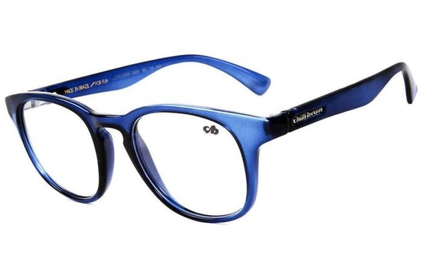 Round Optical Glasses Blue Tr90