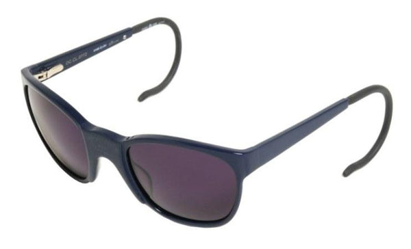 Alexander Hercovitch Round Sunglasses Black Acetate