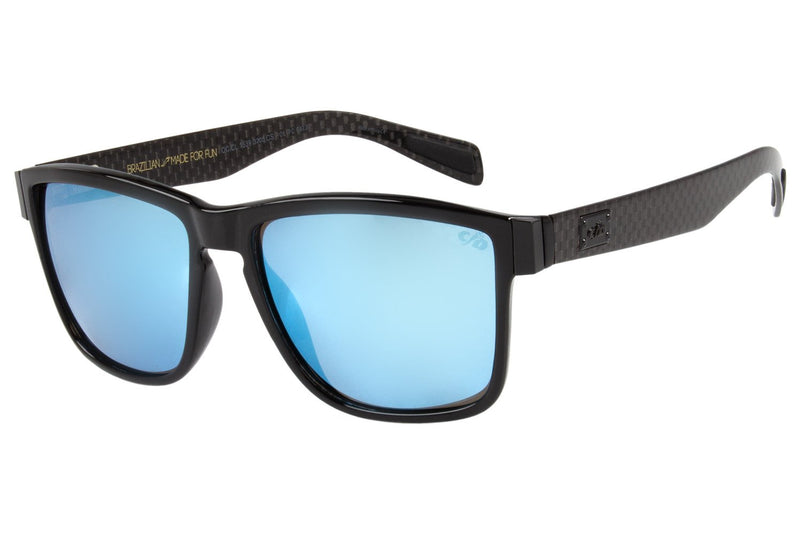 Square Sunglasses Mirrored Polycarbonate
