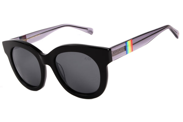 90'S Round Sunglasses Mirrored Acetate