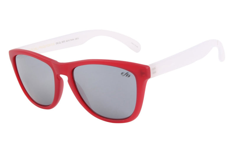 90'S Square Sunglasses Mirrored Polycarbonate