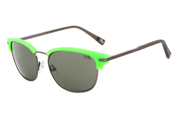90'S Jazz Sunglasses Green Polycarbonate