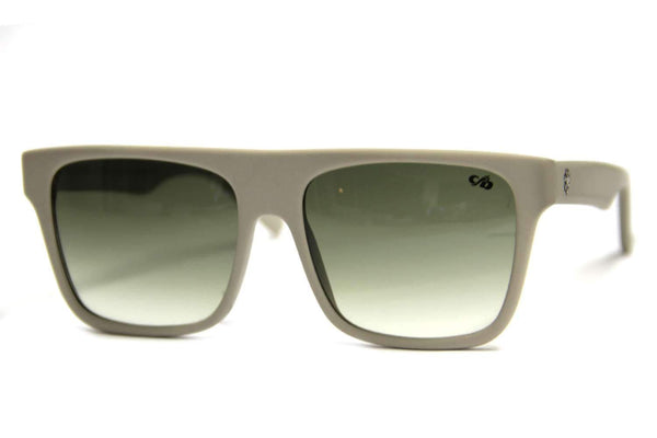 90#S Hells Square Sunglasses Green Acetate
