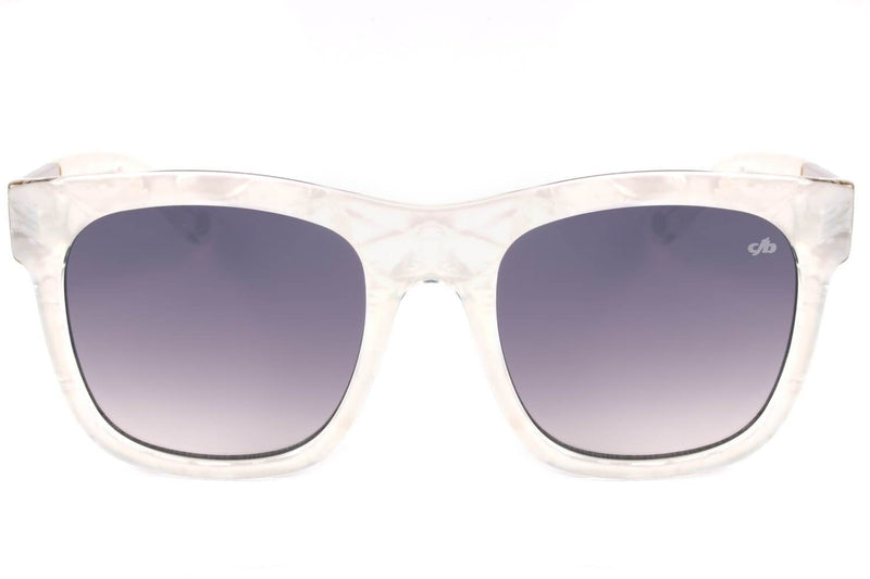 Square Sunglasses Women Flash White Frame - OC.CL.2299-0019