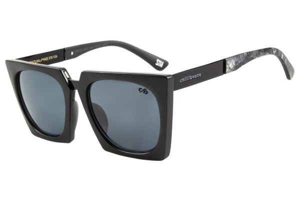 Anitta Square Sunglasses Black Polycarbonate