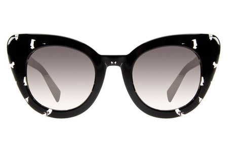 Anitta Cat Eye Grey Turtle Sunglasses by Chilli Beans