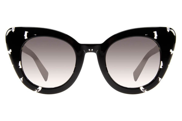 Cat Eye Sunglasses Women Golden Lenses - OC.CL.2365-2106