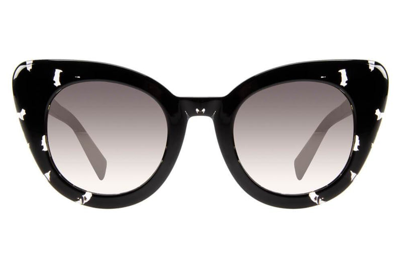 Anitta Cat Eye Sunglasses Golden Acetate
