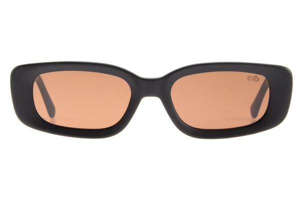 20 Years Square Sunglasses Brown Acetate