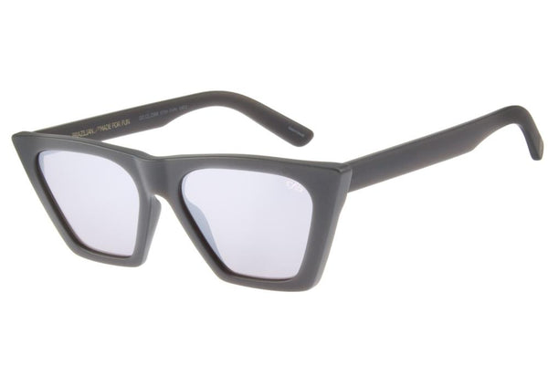 20 Years Cat Eye Sunglasses Silver Polycarbonate