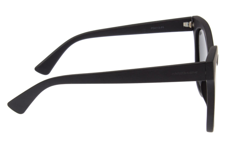 Cat Eye Sunglasses Gray Polycarbonate