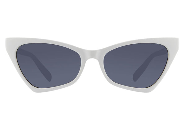 Vintage Cat Eye Black White Sunglasses by Chilli Beans