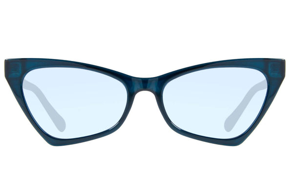 Vintage By Marcelo Sommer Cat Eye Sunglasses Blue Polycarbonate