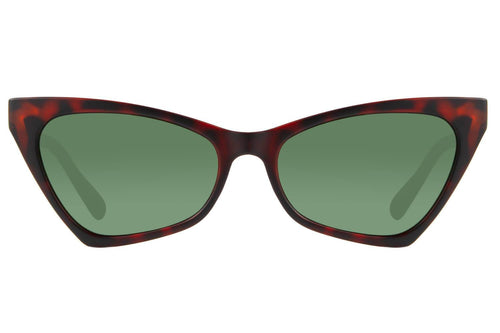 Vintage Cat Eye Green Turtle Sunglasses by Chilli Beans