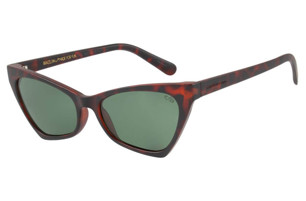 Vintage By Marcelo Sommer Cat Eye Sunglasses Green Polycarbonate