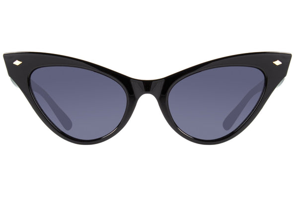 Cat Eye Sunglasses for Women Black Polycarbonate Lenses - OC.CL.2523-0101