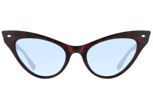 Cat Eye Sunglasses Womens with Blue Lenses - OC.CL.2523-0806