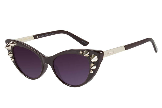 Skulls Special Cat Eye Wine Sunglasses by Chilli Beans
