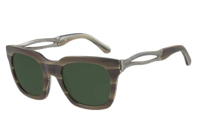 Skulls Square Green Sunglasses by Chilli Beans