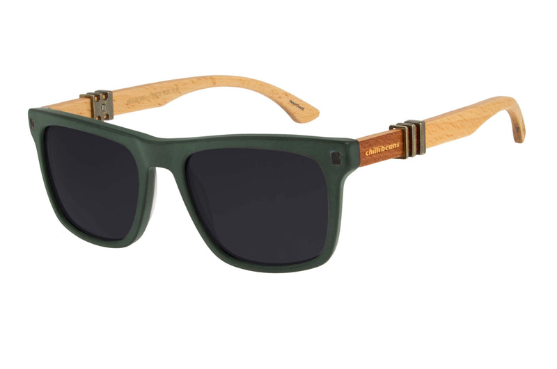 Harry Potter Bossa Nova Sunglasses Black Green Chilli Beans