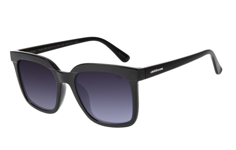 Square Sunglasses Gradient Polycarbonate
