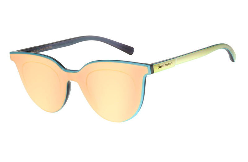 Summer Block Square Sunglasses Rose Polycarbonate