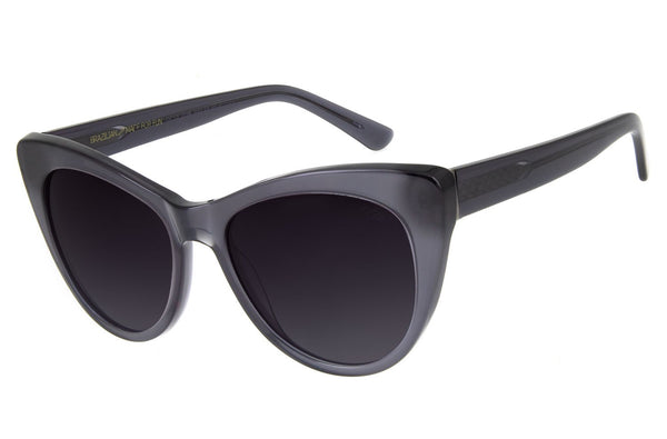 Blk Collection Cat Eye Sunglasses Black Acetate