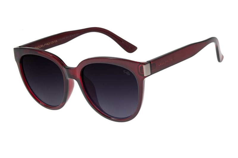 Round Sunglasses Wine Polycarbonate