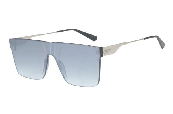 Alok Square Sunglasses Mirrored Polycarbonate