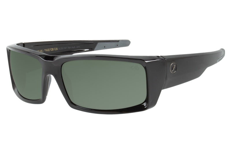 Performance Sunglasses Green Polycarbonate