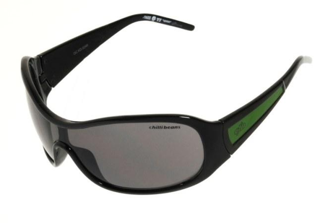 Mask Sunglasses Black Polycarbonate