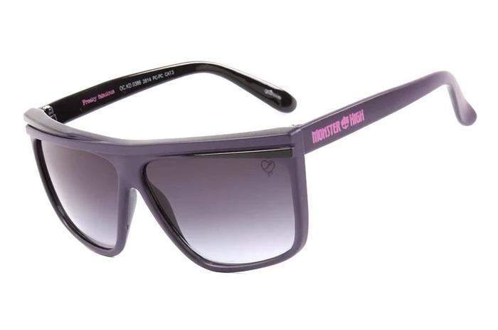 Monster High Square Sunglasses Dark Grey Polycarbonate