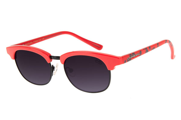 Jazz Sunglasses Red Stainless Steel