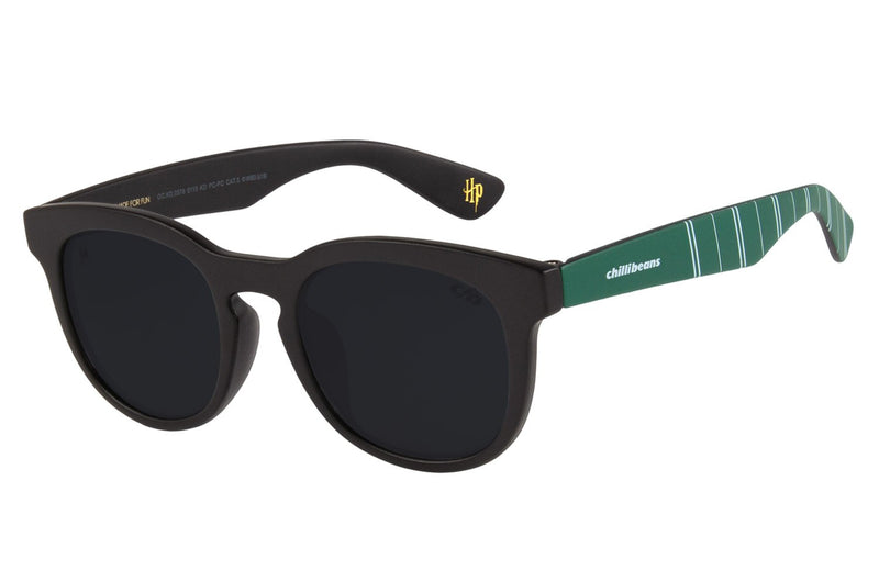 Harry Potter Square Sunglasses Black Polycarbonate