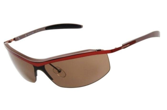 Floating Sunglasses Brown Aluminium