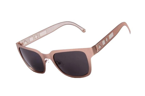 Amapo Square Sunglasses Gray Metal