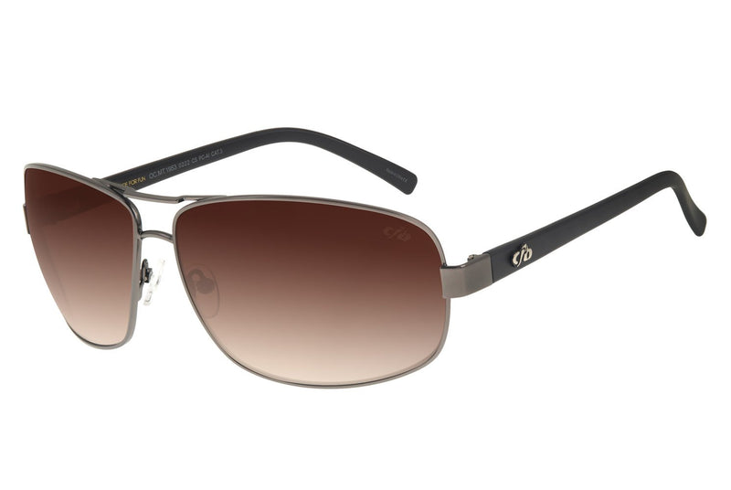Executive Sunglasses Brown Stainless Steel