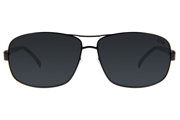 Executive Sunglasses Matte Stainless Steel