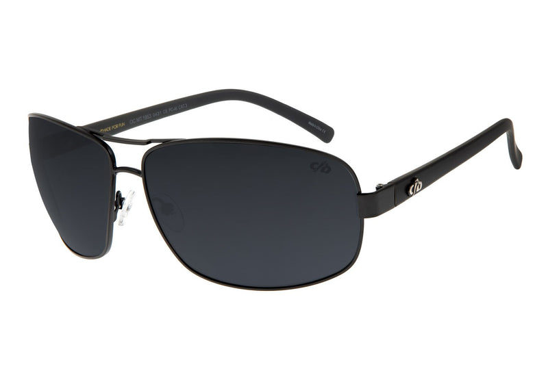 Executive Sunglasses Gray Stainless Steel