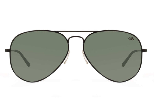 Aviator Black Sunglasses by Chilli Beans